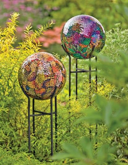10&qout; Mosaic Globe