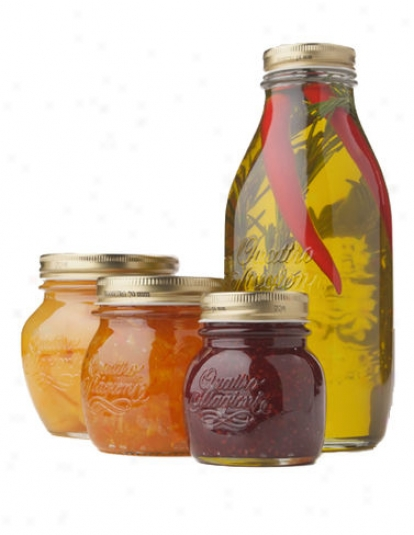 17-ounce Canning Jars, Set Of 12