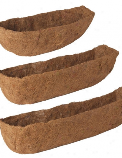 "24"" Aquasav™ Replacement Windowbox Liners, Set Of 2"