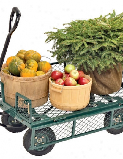 All-terrain Landscaper's Wagon