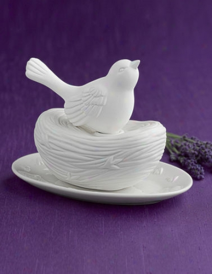 Bisque Bird Nest Diffuser