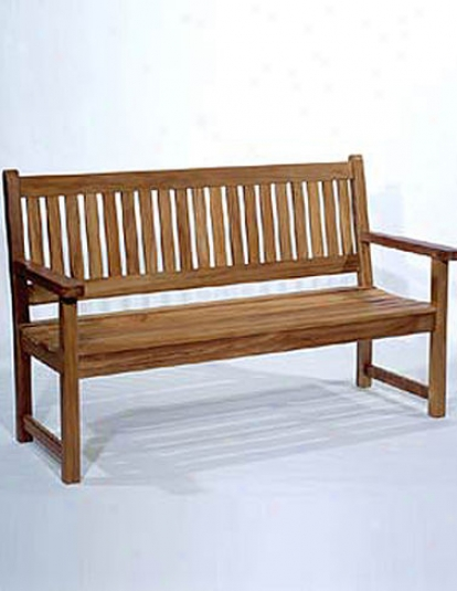Classjc Five -foot Teak Bench