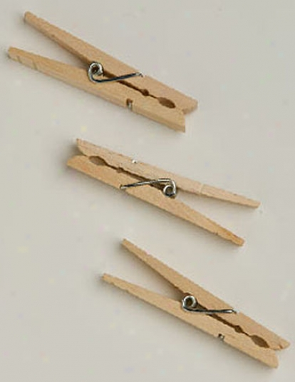 Clothespins, Set Of 50