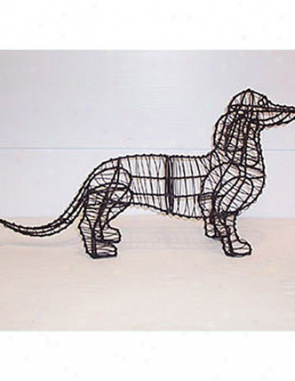 Dachshund Topiary Frame