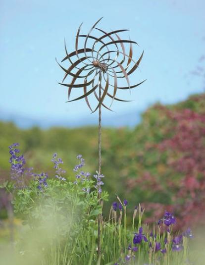 Dahlia Wind Spinner