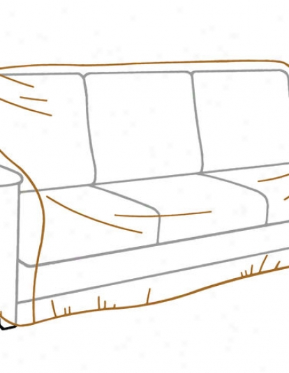 Deluxe 3-seat Sofa Cover