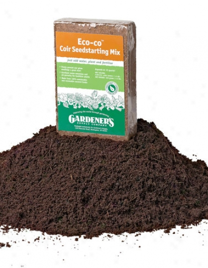 Eco-co Coir™ Seedstarting Mix