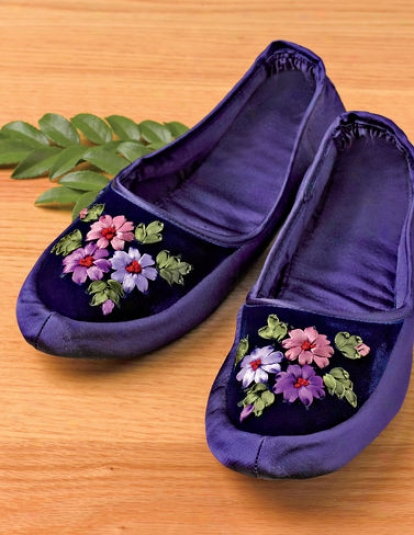 Embroidered Slippers
