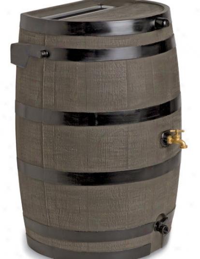 Flat-back Rain Barrels