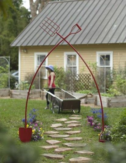 Garden Tool Arch