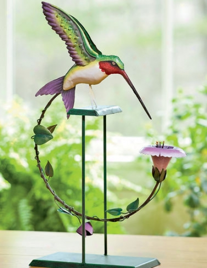 Hummingbird Garden Rocker