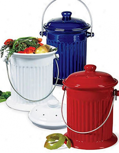 Kitchen Compost Crock