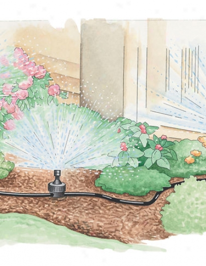 Landscape And Garden Watering-pot System