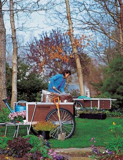 Large Gardener's Supply Cart