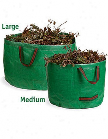 "Large Tip Bag, 31"" Diameter"