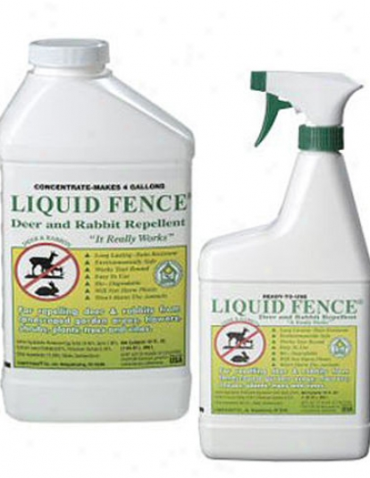 Liquid Fence Spray, 1 Qt, Ready-to-use