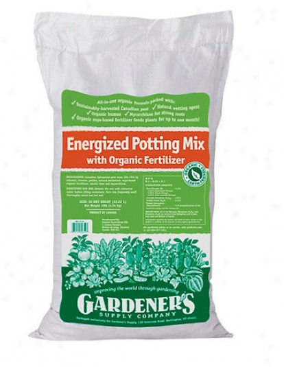 Organic Energized Potting Be ~ed, 20 Qts.