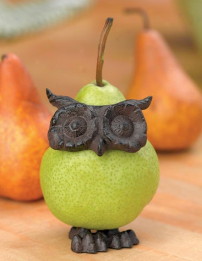 Owl Fruit Decorator