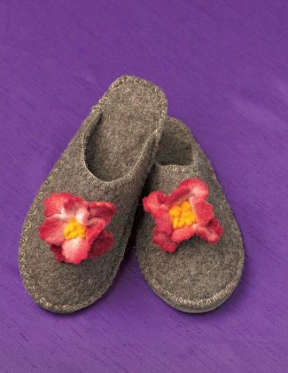 Peony Slippers