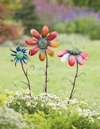 Pick-a-dilly Flowers, Set Of 3