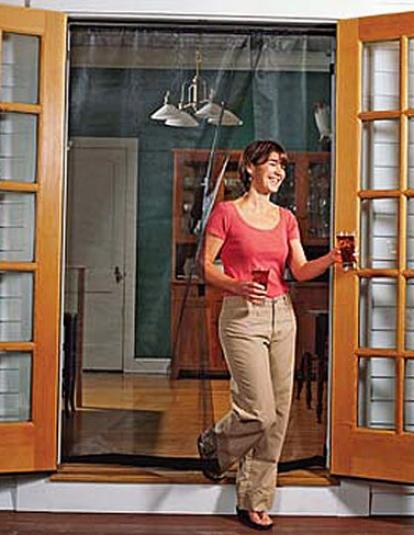 """Reversible French Door Screen, 72"""""""