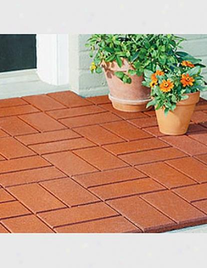 Rubber Brick Paver Mat