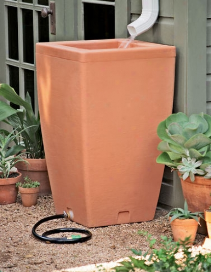 Santa Fe Rain Barrel