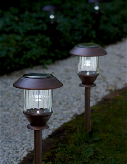 Solar Path Lights, Set Of 2