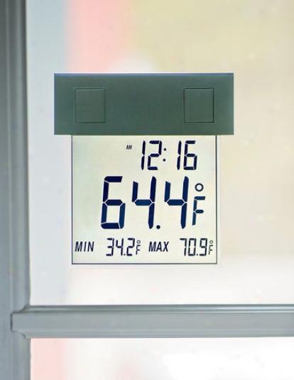 Solar Window Stick Thermometer
