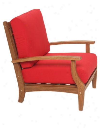 Somerset Armchair, Sumac Red
