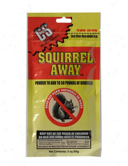 Squirrel Away, 3 Oz.