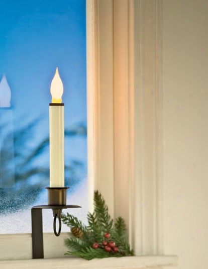 Stay-put Window Candle, Dark Bronze