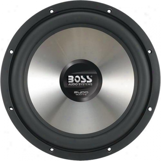 2400 Watts 15&quot; Dual 4 Ohm Voice Coil Subwoofer