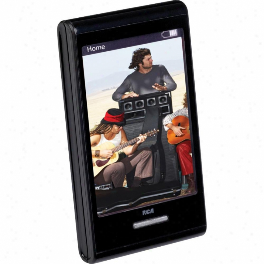 4gb Video Mp3 Player With 2.8-inhc Touch Screen Display M7204