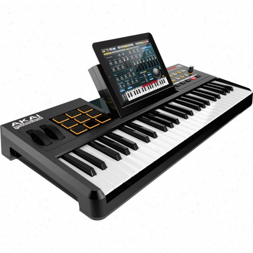 Akai 49-note Keyboard Controller With Drum Pads Synnthstation49