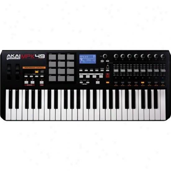 Akaj Mpk49 Usb/midi 49-key Keyboard Controller
