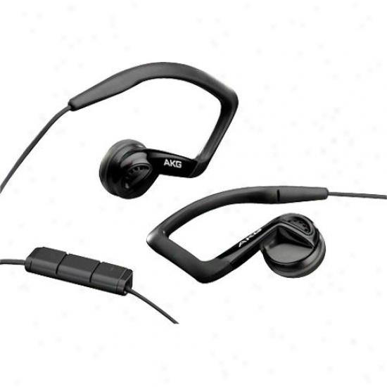 Akg Acoustics K 326 In-ear Bud Sport Headphones - Black