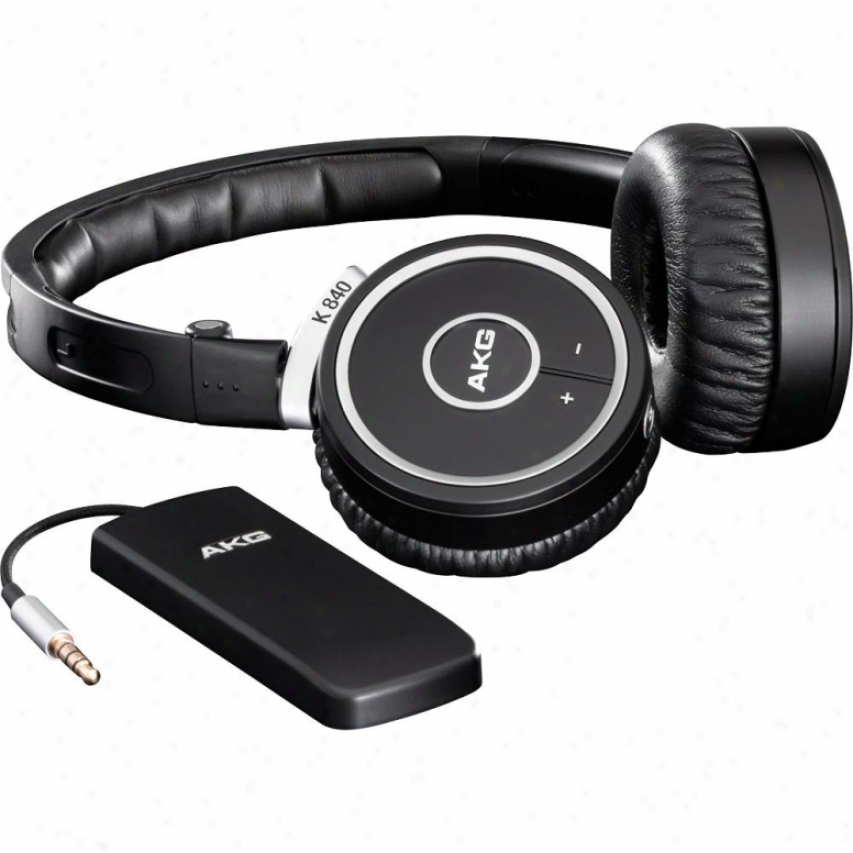 Akg Acousfics K 840 Kl 2.4ghz Wireless Kleer On-ear Headphoens - Black/aluminum