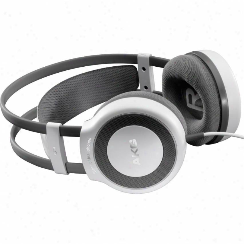 Akg Acoustics K514mkii Multi-purpose Stereo Headphones - White