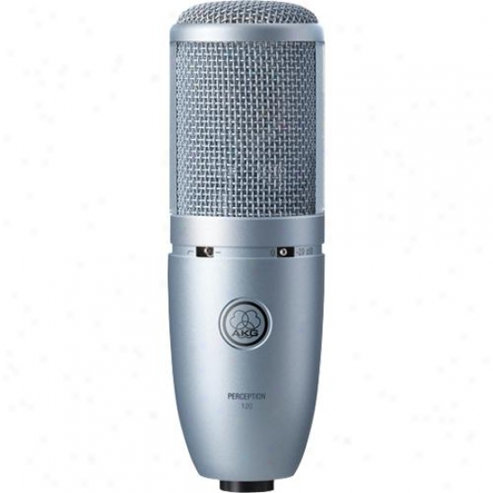 Akg Acoustics Open Box Perception 120 Corded Microphone