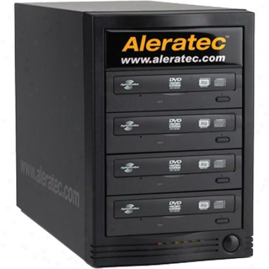 Aleratec 260170 1:4 Dvd Cd Tower Publisher Hls Lightscribe Publishing System