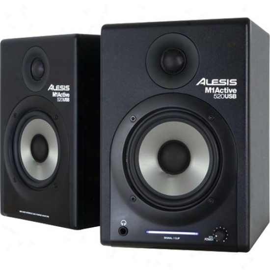 Alesis M1-active 520 Usb Nearfield Studio Monitors
