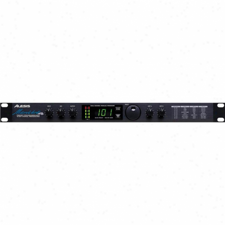 Alesis Microverb4 Preset/programmable 18-bit Signal Processor