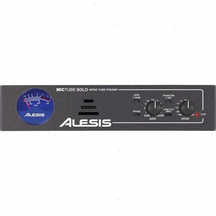 Alesis Mictube Solo Mono Tube Microphone Preamplifier