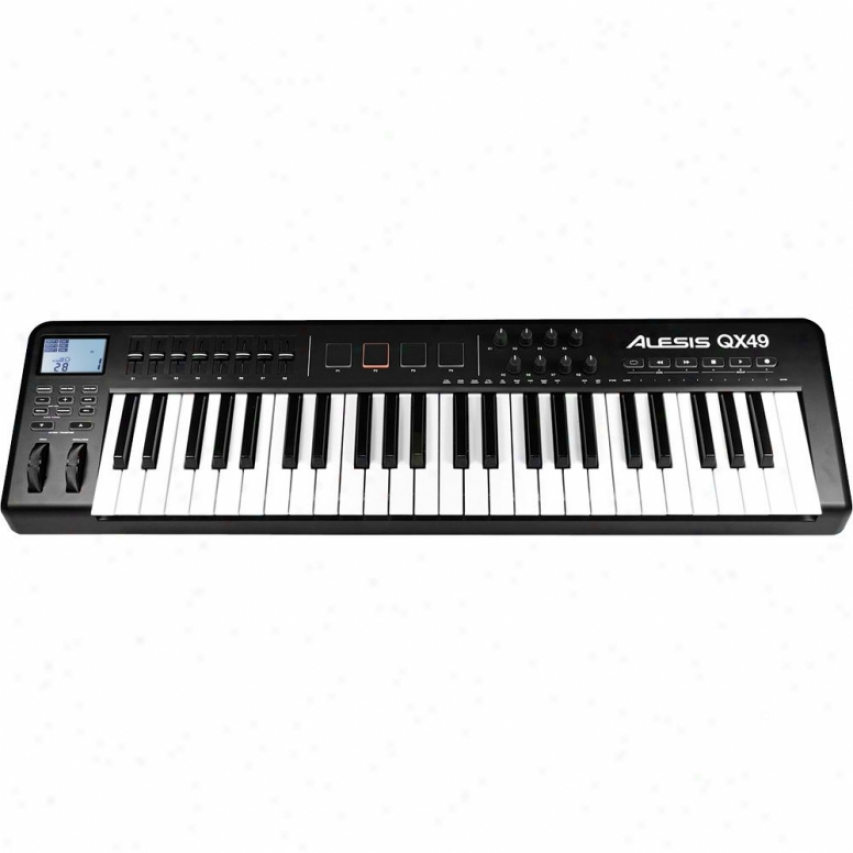Alesis Open Box Qx49 Usb/midl 49-ey Estended Keyboard Controller