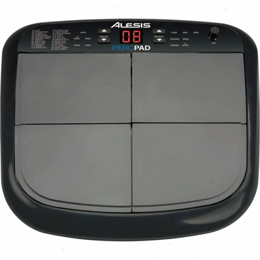 Alesis Percpad Press together Four-pad Percussion Instrument