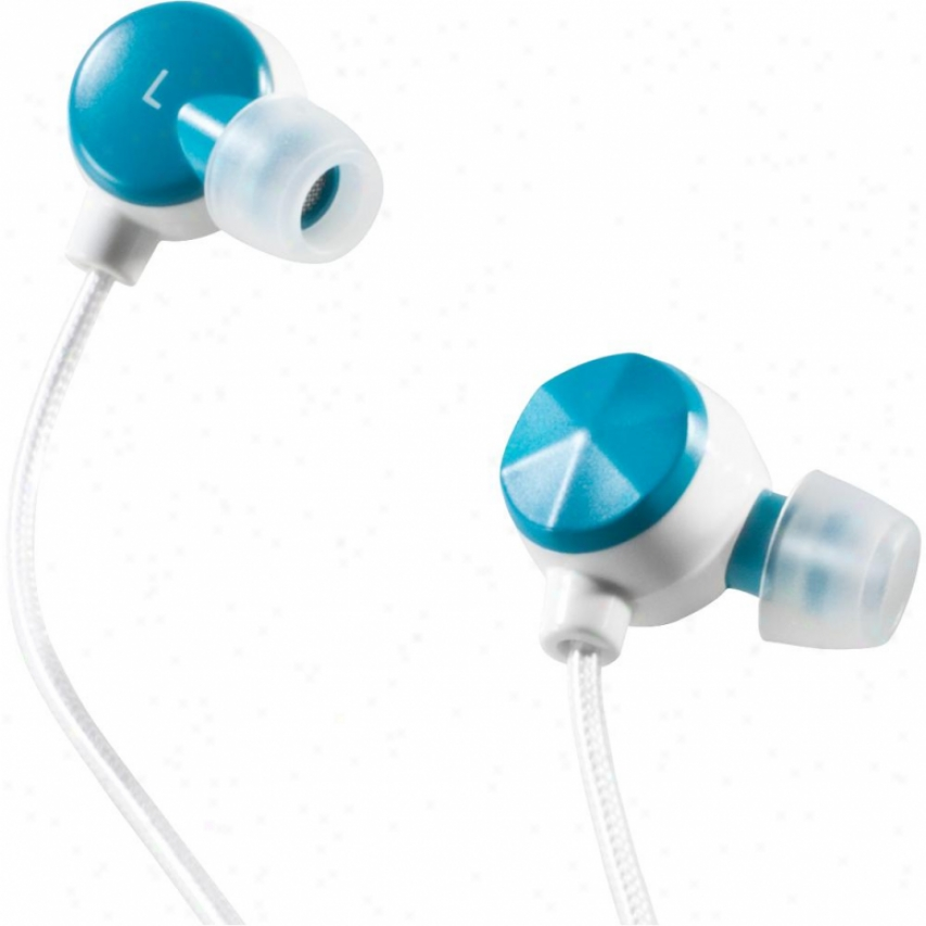 Altec Lansing Bliss Earphones For Iphone - Mzx236 Blue/white