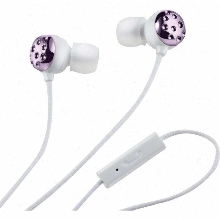 Altec Lansing Bliss Womens Earphone W Mic Rose