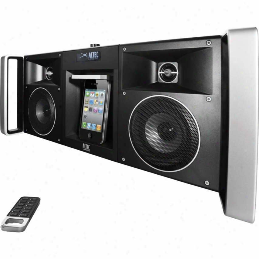 Altec Lansing Imt810 Digital Boombox For Iphone & Ipod