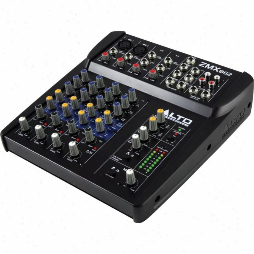Alto Professi0nal Zephyr Zmx862 6-channel Compact Mixer